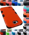 FOR LG X POWER 2 FIESTA LTE RUGGED TUFF CASE HEAVY DUTY IMPACT COVER+STYLUS