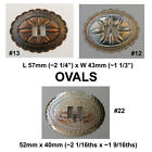Conchos Western Gold Silver Heart Coyote Boot Buffalo Butterfly ArrowheadSlotted