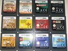 Nintendo DS Games (ALL CARTRIDGE ONLY) Selection