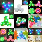 LED Light Bluetooth Speaker Hand Spinner Tri Finger Gyro EDC ADHD Toy aPretty