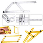 Adjustable Four-Sided Folding Measuring Multi-Angle Template Scale Ruler Tools