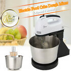 7 Speed Electric Food Stand Mixer Egg Beater Dough Whisk Hand Blender Bowl Hook