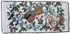 Violin & Horn Tapestry Piano Bench Cushion Pad Comfort