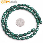 Mala Natural Stone Tibetan Malachite Gemstone Beads For Jewelry Making 15""