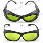 190-450nm & 800-1100nm OD4+ Blue+IR Laser Safety Glasses Protection Goggles CE
