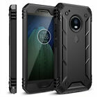 Moto G5 Plus Case,Poetic® [Revolution] Dual Layer Shockproof Cover Black