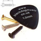 Guitar screws chrome black or gold string tree pickup surrounds 2.5mm x 15mm.