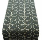 TABLE RUNNERS made in LINEAR STEM cool grey orla  lined- runner kiely