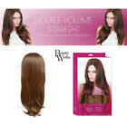 """Beauty Works 22"""" Synthetic Straight Double Volume Hair Piece Half Wig"""