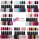Ukiyo 6 Colors Set Soak Off Gel Nail Polish UV LED Gel Color Need Top Base Coat