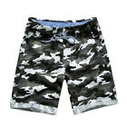 2017 fashion men beach shorts mens casual camouflage shorts military short pants