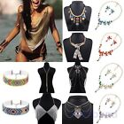 Women Charming Crystal Rhinestone Collar Choker Necklace Wedding Party Jewelry