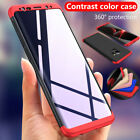 For Samsung Galaxy S8+ Plus THINNEST Shockproof Case 360° Protective Skin Cover