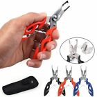 Stainless Steel Fishing Pliers Scissors Braid Line Cutter Hook Remover Tool