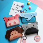Lady Animal Flap Design Coin Bag Pouch Back Key Wallet Purse Credit Card Holder