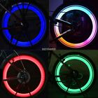 New Bicycle Bike Cycling Wheel Spoke Tire Tyre Lamp LED Light Rainbow Red K0E1