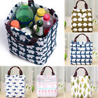 Portable Insulated Thermal Cooler Lunch Box Carry Tote Storage Bag Picnic Case