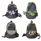 Outdoor Pet Puppy Dog Cat Travel Bag Mesh Backpack Head out Carrier Shoulder Bag