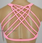 NEW LULULEMON Free To Be Bra Wild 4 8 Pink Shell Sports Yoga Gym NWT FREE SHIP