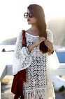 Gypsy Junkies Mimi Tunic Original Daisy Lace Cream M/L