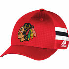 Chicago Blackhawks Adidas NHL Adi 2017 Draft Cap Str Flex Headwear