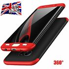 360° Full Cover Hybrid Hard PC Shockproof Case for Samsung Galaxy S7 Edge S8+