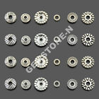Tibetan Silver Carved Flower Beads Cap Metal Findings Design Jewelry