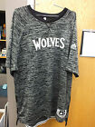 Minnesota Timberwolves Authentic NBA Game Issue Black & Gray Shooting Shirt NEW