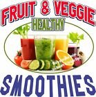 Smoothies DECAL (CHOOSE YOUR SIZE) Fruit Veggie Food Vinyl Sticker Concession