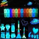 New DIY Glow in the Dark Acrylic Luminous Bright Paint Pigment Decorate Party