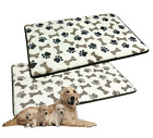 Large Memory Foam Dog Puppy Mattress Pad Bed Warm Soft Plush Cushion Pet Cat Mat