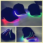 LED Lighted up Hat Glow Club Party Baseball Hip-Hop Adjustable Sports Cap