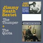 JIMMY HEATH SEXTET - THE THUMPER + THE QUOTA USED - VERY GOOD CD
