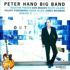 PETER HAND BIG BAND/HOUSTON PERSON - OUT OF HAND USED - VERY GOOD CD