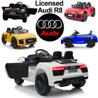 OFFICIAL 2018 AUDI LICENSED R8 12V KID RIDE ON JEEP REMOTE CONTROL CAR DOOR OPEN