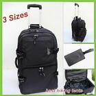 New Lightweight Wheeled Travel Duffle Bag Luggage Overnight Tote Trolley 3 Sizes