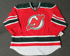 New New Jersey Devils Retro Authentic Team Issued Reebok Edge 20 Hockey Jersey