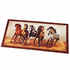 Western Galloping Horse Rug, Brown, by Collections Etc