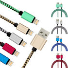 New Strong Braided Usb Charger Cable Data Sync Charge Cord For Iphone 5 6 7