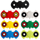 WHOLESALE JOB LOT, Batman Fidget Spinner LED Light Hand   (BULK TOYS) 1-100 PCS