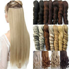 Clip In Hair Extensions 100% Real Natural Long Straight Curly Real As Human Fh7