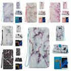 For Samsung Galaxy S7 edge Marble Pattern Glossy PU Synthetic Leather Case Cover