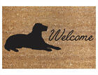 Door Mat Coir Heavy Duty House Home Welcome 40X60CM Carpet Rug 3 Designs
