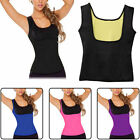 Women Underbust Neoprene Tank Top Waist Trainer Cincher Vest Body Shaper PLUS US