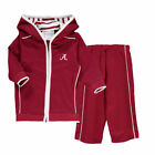Alabama Crimson Tide Two Feet Ahead Infant French Terry Pant And Hood Set