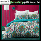 3 Pce Glastonbury Quilted Quilt Cover Set by Phase 2 - DOUBLE QUEEN KING