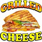 Grilled Cheese DECAL (Choose Your Size) Food Truck Sign Sticker Concession