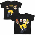 Pittsburgh Steelers Toddler Football Dreams T-Shirt - Black - NFL