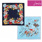 Joules Bloomfield Ladies Silk Scarf (X) **FREE UK Shipping**