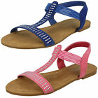 WHOLESALE Girls Casual Sandals / Sizes 10x2 / 16 Pairs / H0245